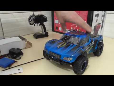 unboxing🚙📹📦 RC Car Moster Truck MUSCLE SLAYER UJ99-1612B
