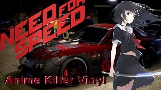 Anime Killer Vinyl, Mazda RX-7   TIMELAPSE   NEED FOR SPEED (2015)