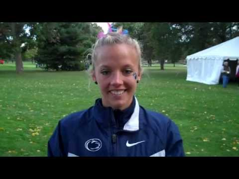Kara Millhouse Penn State 12th Womens Blue Race Notre Dame XC Invite 2011