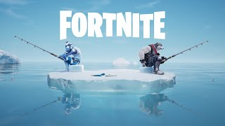 Going Ice Fishin' - Fortnite Shorts