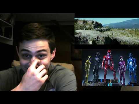 Power Rangers (2017) Movie Official Teaser Trailer REACTION