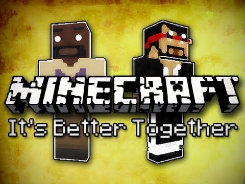 Minecraft: It's Better Together w/ Mark Part 6 – Floating Water and Gold Blocks