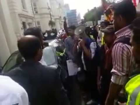 London protest against bbs 5th may 2014