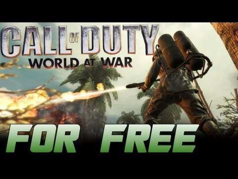 How to Get Call of Duty World at War w/ Custom Zombies For Free For PC! + Gameplay