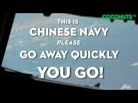 China warns US Navy plane over disputed Spraty Islands | Coconuts TV