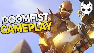 Overwatch - DOOMFIST GAMEPLAY - ROCKET PUNCH!
