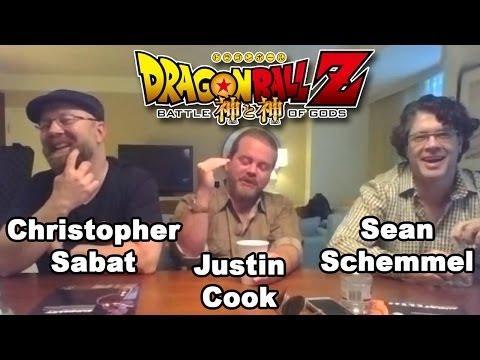 DBZ: Battle of Gods- Sean Schemmel, Christopher Sabat and Justin Cook Interview