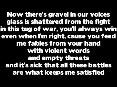 Rihanna: Love The Way You Lie [Part 2] ft. Eminem [Lyrics]
