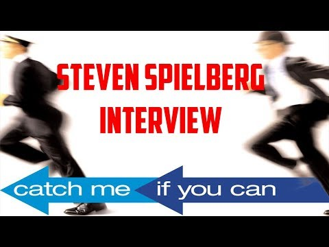 Steven Spielberg Interview - Catch Me If You Can Up (2002)