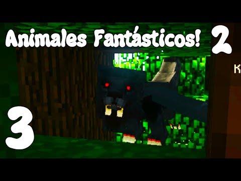 Minecraft SERIE DE MODS! ANIMALES FANTÁSTICOS T.2! Cap.3!