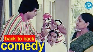Chantabbai Movie Back To Back Comedy Scenes|| Chiranjeevi || Suhasini || Jandhyala || K Chakravarthy