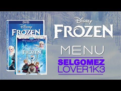 Disney's Frozen dvd menu