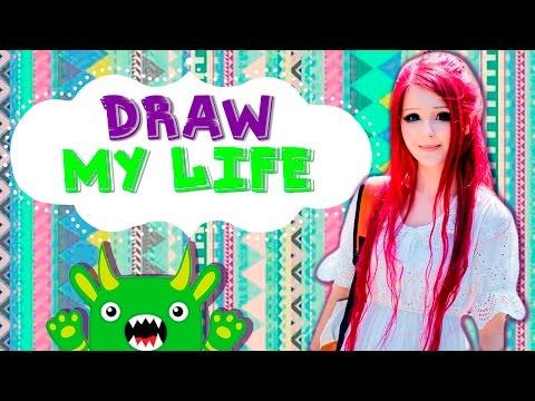 Anastasiya Shpagina | DRAW MY LIFE