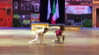 Angelina Mushto & Sergey Svirin - Europameisterschaft 2015