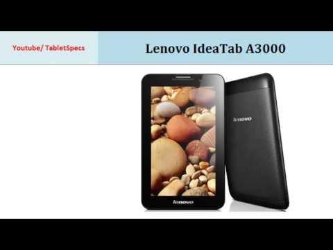 Lenovo IdeaTab A3000, Full specs