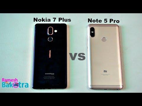 Nokia 7 Plus vs Redmi Note 5 Pro Speed Test and Camera Comparison