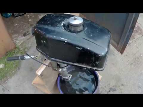 лодочный мотор салют не заводиться