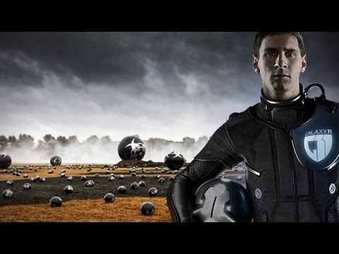 Messi joins as Captain of #GALAXY11 ONE TEAM TO SAVE EARTH
