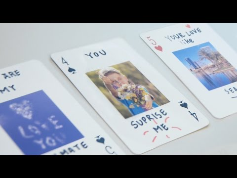 DIY │ 52 Reasons Why I Love You Deck Of Cards Tutorial