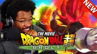 Greatest Anime Movie and I HAVEN'T EVEN SEEN IT YET! Dragon Ball Super Broly NEW Trailer Reaction