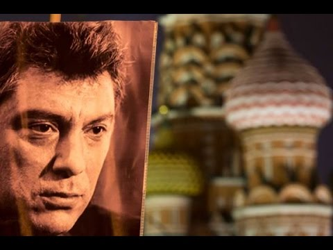 Tens of thousands march in silence over killing of Boris Nemtsov