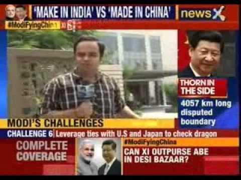 Chinese premier XI Jinping on India visit