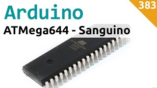 "Arduino ""Sanguino"" con ATMega644 su Breadboard con bootloader e FT232 - Video 383"