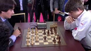 GM Morozevich (Russia)- GM Carlsen (Norway)