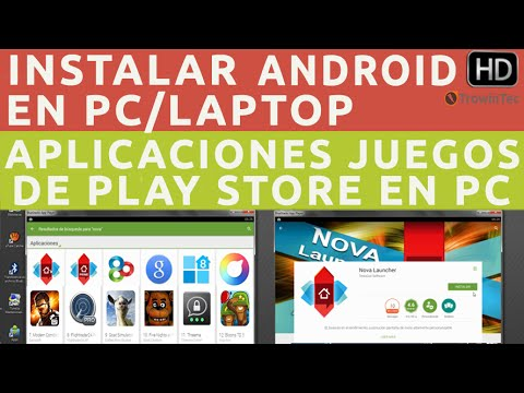 Instalar Android en PC Windows y Descargar/Ejecutar Aplicaciones de Google PlayStore en PC