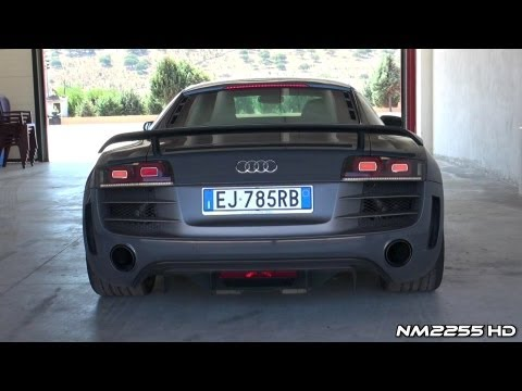 Best of Audi R8 GT V10 Exhaust Sound!