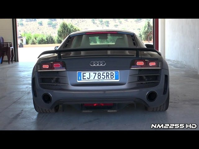 Best of Audi R8 GT V10 Exhaust Sound! - YouTube