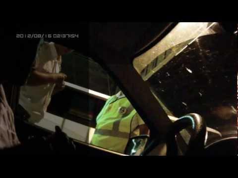 Пьяный инспектор ДПС на ПОСТу 17 Волгоград, часть-1