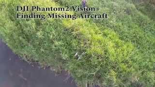 DJI Phantom2 Finding Missing Aircraft