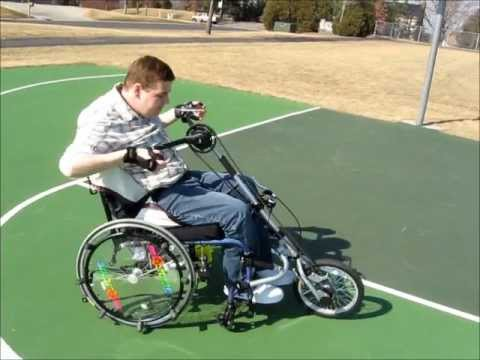 Dragonfly lightweight Wheelchair Attachable Handcycle Quadriplegic Package reviewed by Mark Felling