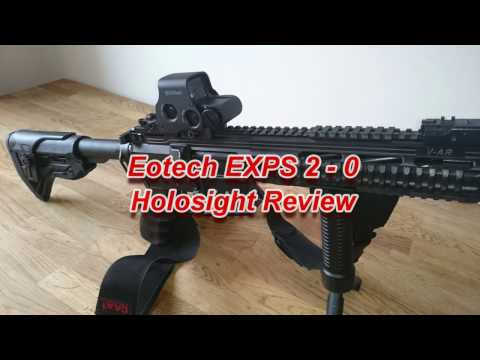 CTP:- Eotech EXPS 2 - 0 Holosight review