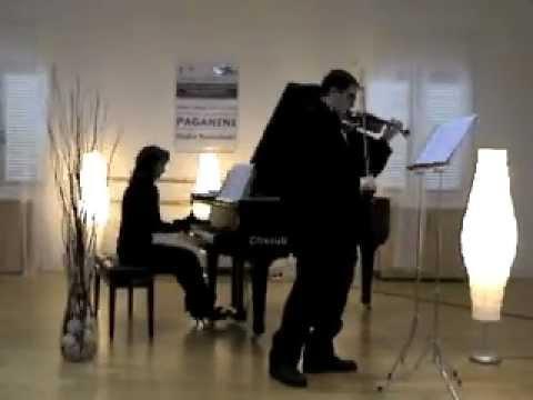 Wieniawsky Scherzo Tarantella - Giulio Menichelli DEDICATO a GIANNA e GIANCARLO