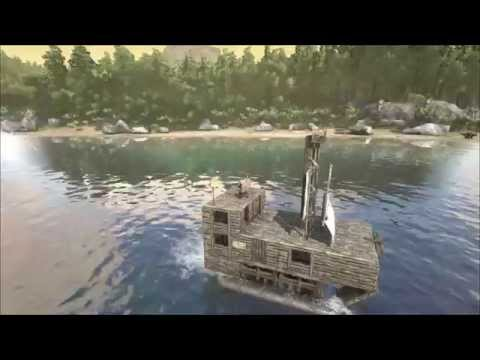ARK: Survival Evolved. Pirate Ship Trailer!