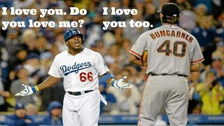 Puig and Bumgarner's Beautiful Friendship