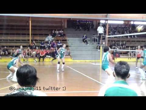 Mika Reyes, DLSU Game 1 (Baguio April 30, 2013) @sunajneji11