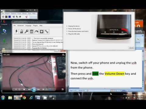 How to Downgrade From ICS to GB for Sony Xperia Live with Walkman