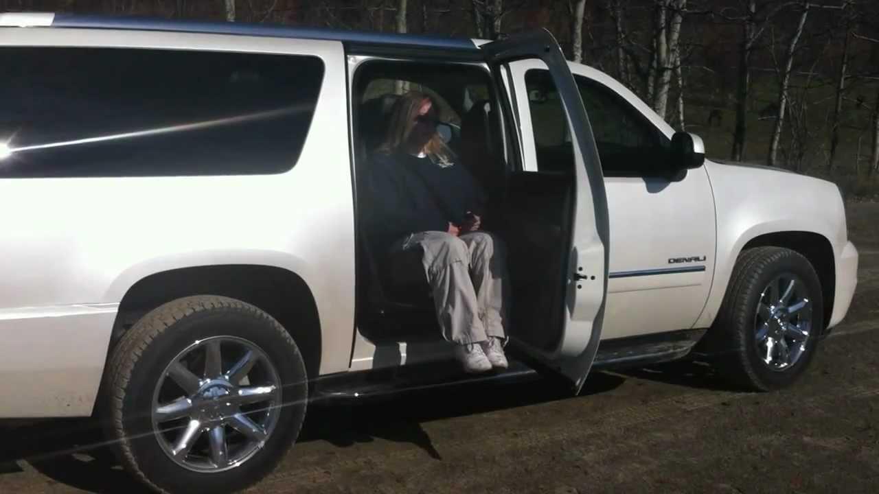 Easy Reach Lift Seat In 2011 Chevrolet Suburban Rear Seat