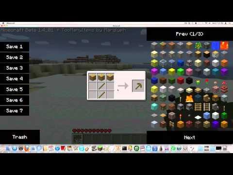 How to Install Recipe Book Mod Minecraft 1.4
