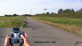 YMFC-32| Altitude hold programming and implementation| The Arduino - STM32 DIY autonomous drone