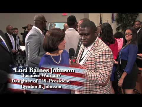 Luci Baines Johnson Live on NBTV