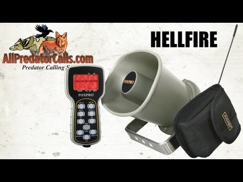 FOXPRO Hellfire Digital Game Call HF1 Review for Coyote Hunting