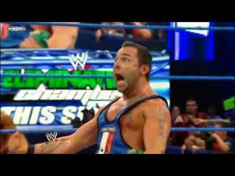 Santino Marella Wins Elimination Chamber Spot (2012