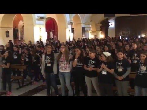 Misa  del III Festival de la Canción de los colegios de la Presentación en Baza 2016