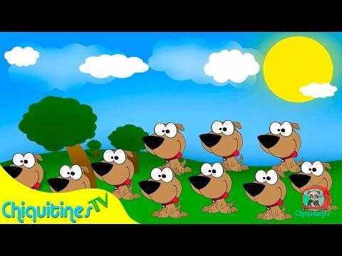 Yo tenia 10 perritos ? Canciones Infantiles ? Español