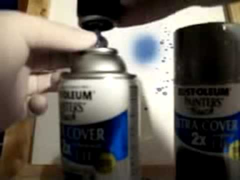 Mixed Painter's Touch Paint Color in Mini Axe Can Graffiti