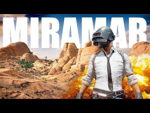 NEW PUBG MAP! Miramar Solo & Squad Live Stream Gameplay | AWESOME MAP!